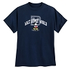 Disney Adult Shirt - Disney World Mickey Logo - Navy
