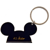 Disney Keychain Ring - Mickey Ears - #1 Sister