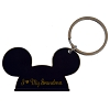 Disney Keychain Ring - Mickey Ears -  I Heart My Grandma