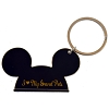 Disney Keychain Ring - Mickey Ears -  I Heart My Grand Pets