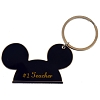 Disney Keychain Ring - Mickey Ears - #1 Teacher
