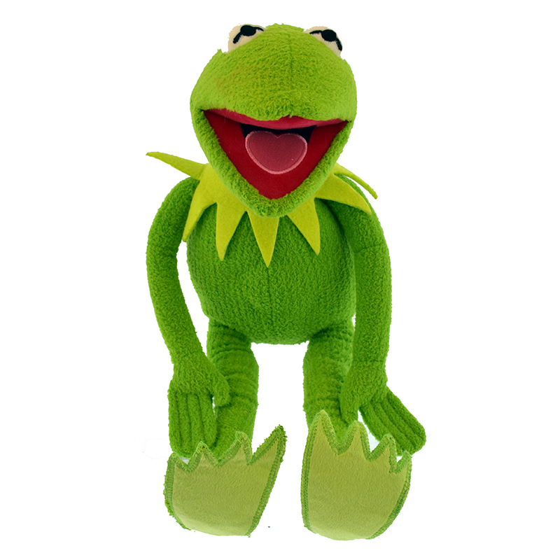 Disney Plush - Muppets - Kermit - 17 in.