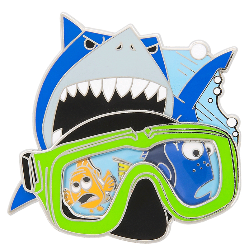 Disney Finding Nemo Pin - Marlin Dory and Bruce