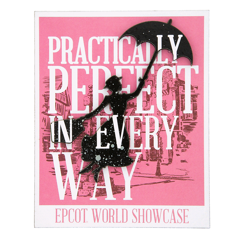 Disney Kitchen Magnet - Mary Poppins - Practically Perfect