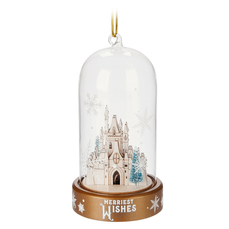 Disney Light-Up Ornament - Domed Castle