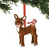 Department 56 Ornament - Flocked Rudolph with Birds