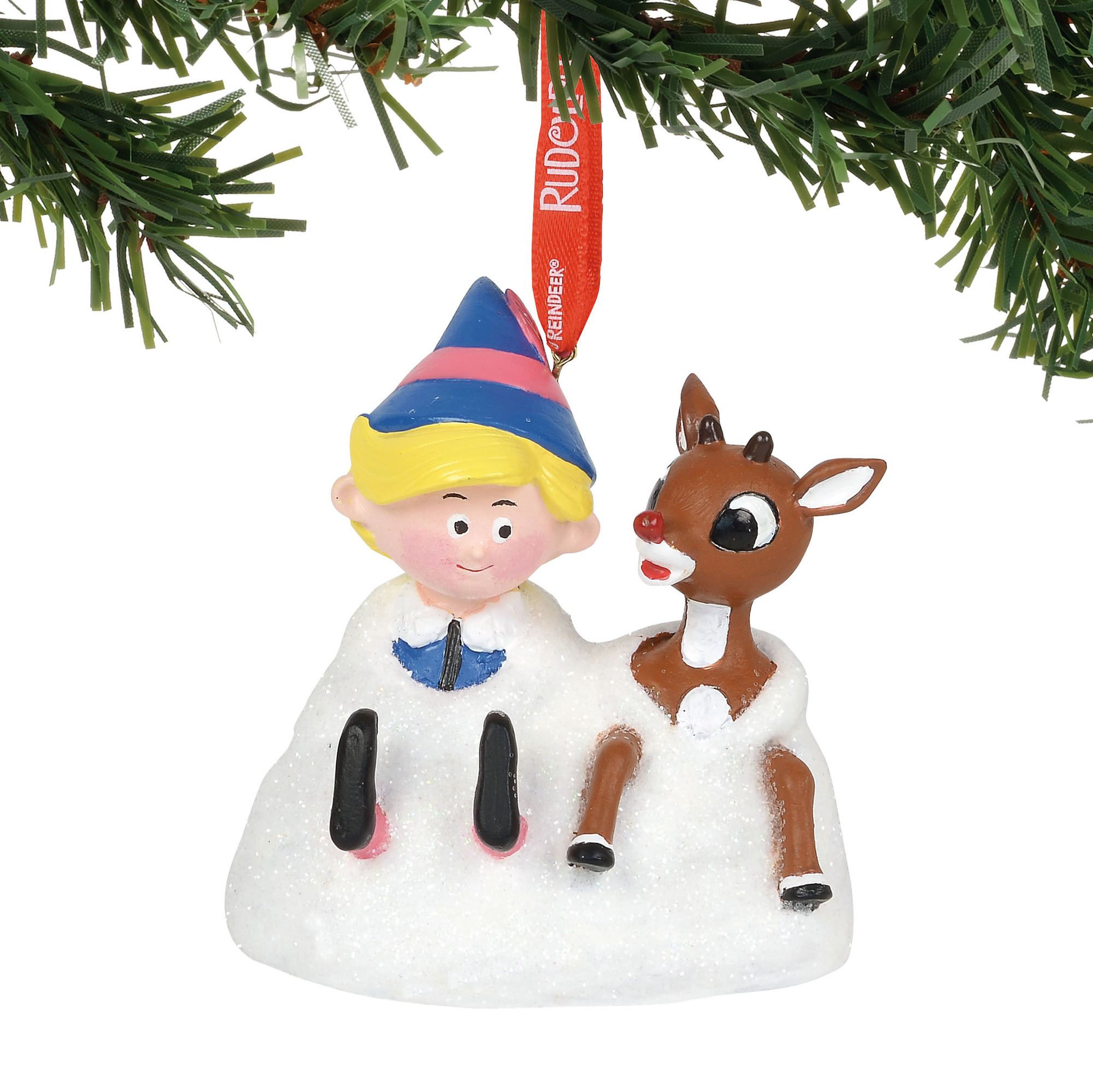 Department 56 Ornament - Rudolph - Musical Rudy and Elf