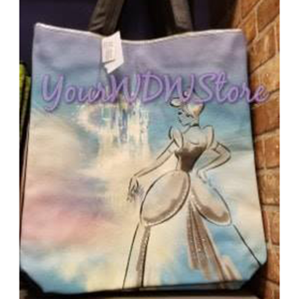 Disney Tote Bag - Cinderella and the Magic Castle