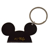 Disney Keychain Ring - Mickey Ears - #1 Wife
