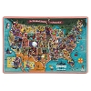 Disney Wall Art  - American Adventure Map Wooden