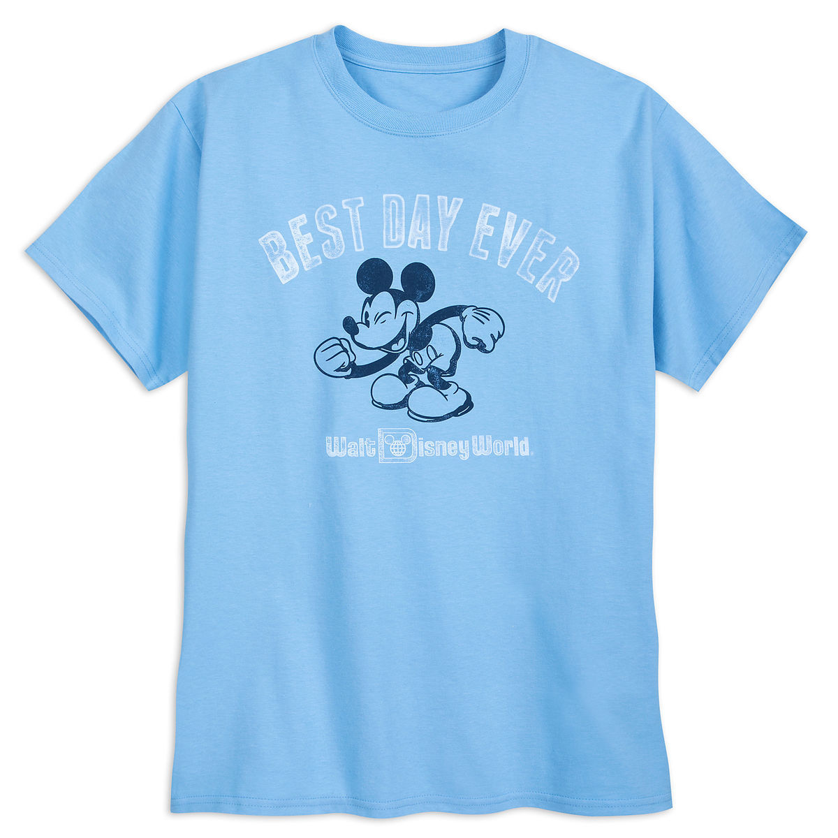 Disney ADULT Shirt - Mickey Mouse - Best Day Ever - Disney World