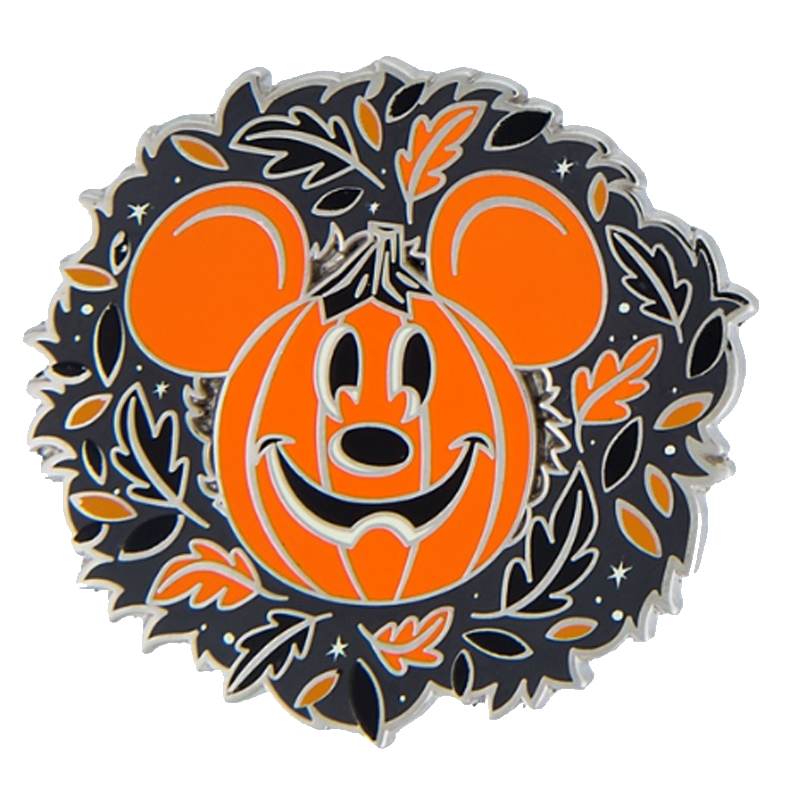 Disney Halloween Pin - Mickey Autumn Pumpkin Pin