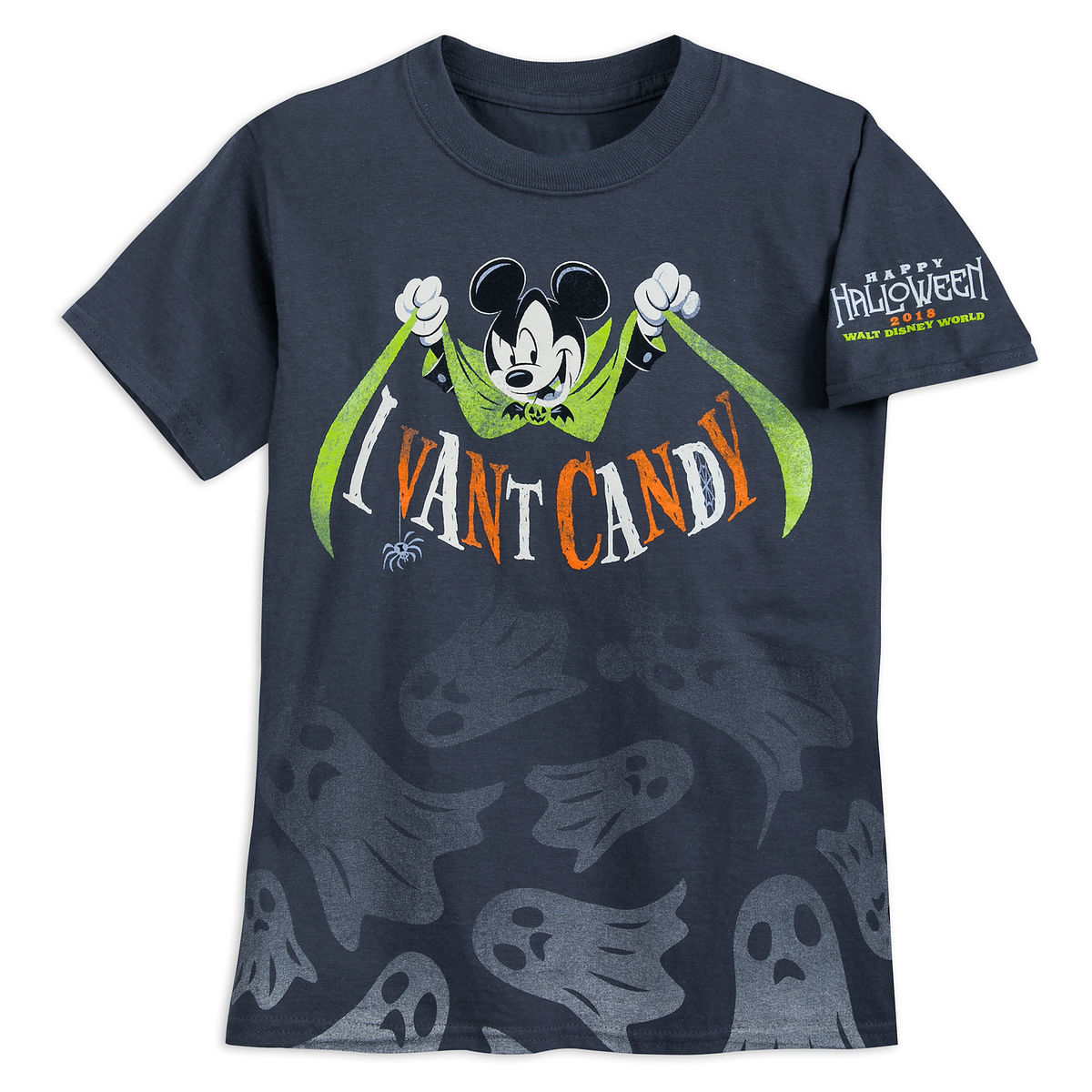 Disney Child Shirt - Halloween 2018 Vampire Mickey - I Vant Candy