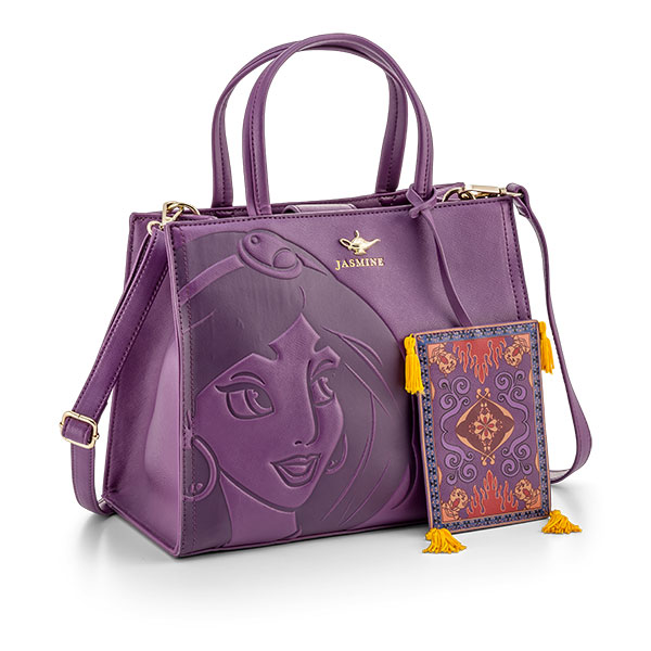 Disney Loungefly Satchel Bag - Limited Edition Jasmine with Magic Carpet - Purse