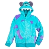 Disney Child Hoodie - Monsters Inc. Sulley Costume Zip Hoodie