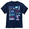 Disney ADULT Shirt - Mickey Mouse and Walt Disney World Icons