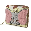 Disney Loungefly Wallet - Dumbo Stripes Mini Wallet