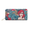 Disney Loungefly Wallet - The Little Mermaid Ariel Leaves
