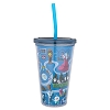 Disney Tumbler With Straw - Haunted Mansion Icons