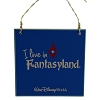 Disney Wall Sign - I Live In Fantasyland
