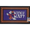 Disney Floor Welcome Mat - Halloween - Minnie Mouse Witch Way?
