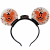 Disney Ears Headband - Halloween 2018 Light Up Mickey Jack O'Lanterns