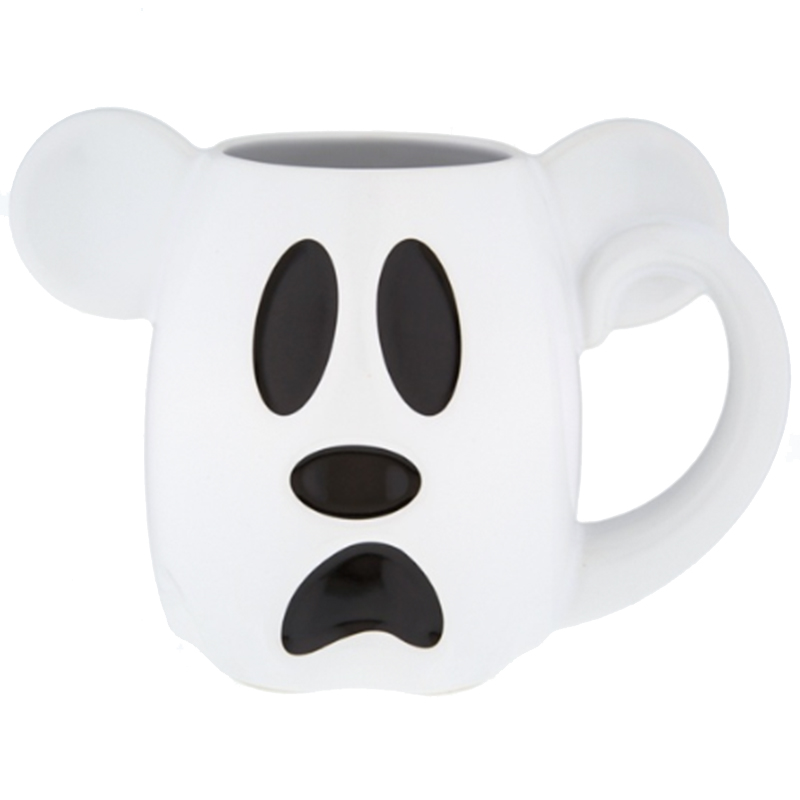 Disney Coffee Cup - Mickey Mouse Halloween Ghost - Boo To You!