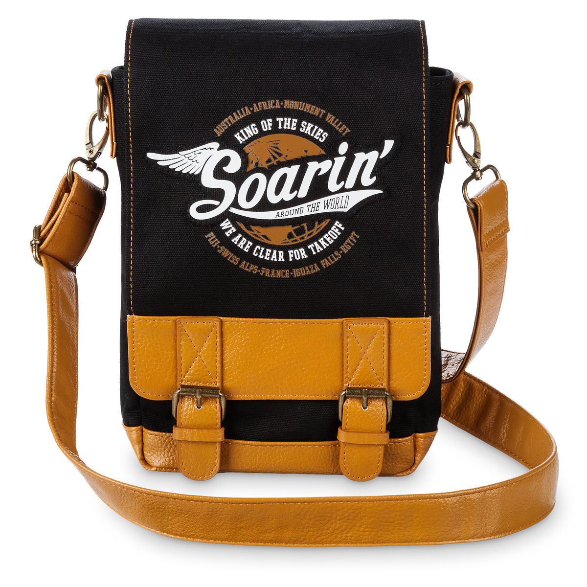 Disney Messenger Bag - Soarin' Around the World
