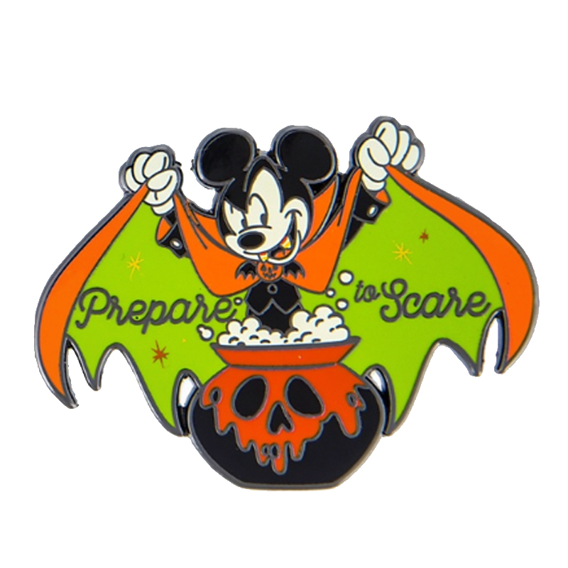 Disney Halloween Pin Mickey Mouse Halloween Prepare To Scare