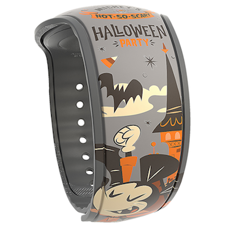 Magic Band Halloween 2020 Disney Magicband 2 Bracelet   Mickey's Not Scary Halloween Party 2018