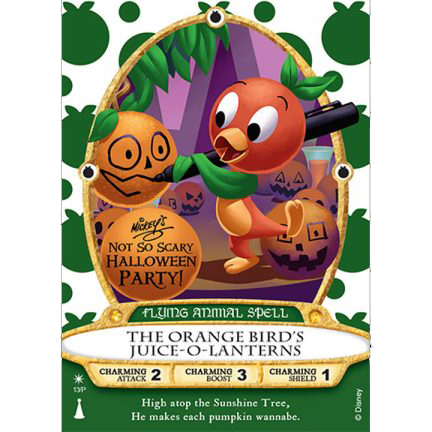 Disney Sorcerers of Magic Kingdom Card - MNSSHP 2018 Orange Bird