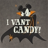Disney Hanging Wall Door Decoration - Vampire Mickey - I Vant Candy!