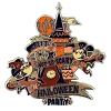 Disney Pin - Mickey's Not So Scary Halloween Party - 2018 Logo