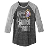 Disney Adult Shirt - The Haunted Mansion Baseball T-Shirt