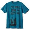 Disney Adult Shirt - Haunted Mansion - Dying to Meet You - Blue