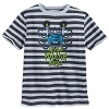 Disney Child Shirt - Haunted Mansion Striped Foolish Mortals T-Shirt