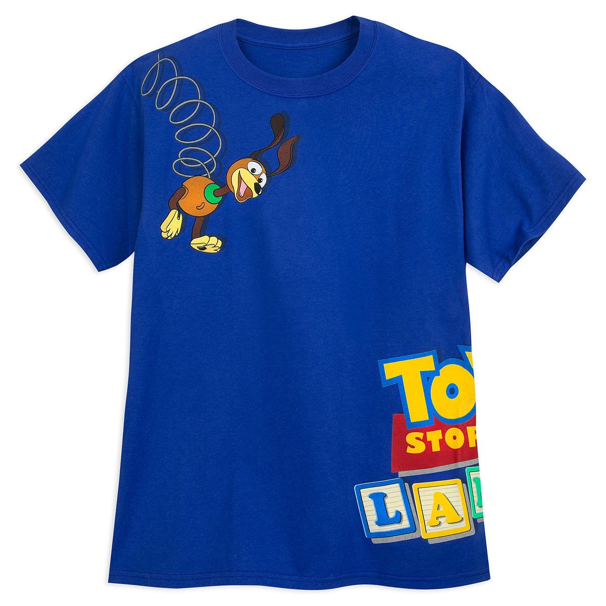 Disney Adult Shirt Toy Story Land Slinky Dog T Shirt