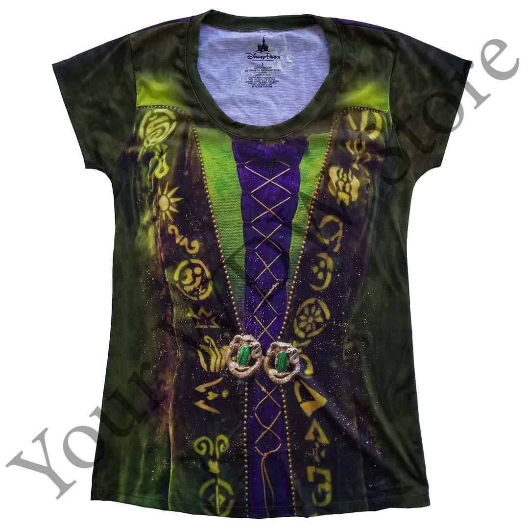 eee1cf50b Disney Ladies Shirt - Hocus Pocus Sanderson Sisters - Winifred Costume