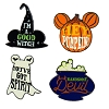 Disney Halloween Pin Set - Mickey 4 Pin Set -