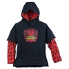 Disney Child Hoodie - Mickey Rock 'n Roller Coaster Double-Up Pullover