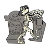 Disney Halloween Pin - Goofy The Mummy Halloween Creep Pin