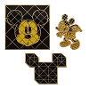 Disney 3 Pin Set - Mickey Mouse Memories - 80's