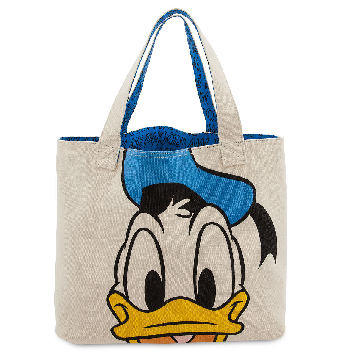Disney Canvas Tote Bag - Donald Duck