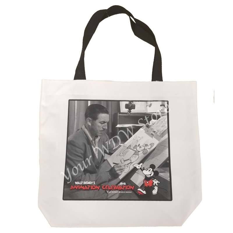 Disney Tote Bag - Animation Celebration - Walt and Mickey