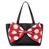 Disney Loungefly Purse - Minnie Mouse Bow Signature Satchel