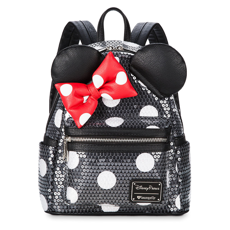 13d72c0ef70 Add to My Lists. Disney Loungefly Mini Backpack - Minnie Mouse Bow ...