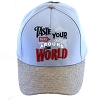 Disney Baseball Cap Hat - 2018 Epcot Food and Wine Taste Your Way