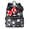 Disney Loungefly Mini Backpack - Minnie Mouse Bow - Sequin