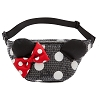 Disney Hip Bag - Minnie Mouse Bow Sequin by Loungefly