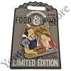 Disney Food and Wine Festival Pin - 2018 Snow White and Grumpy Dwarf